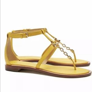 Tory Burch Toggle Flat Sandals